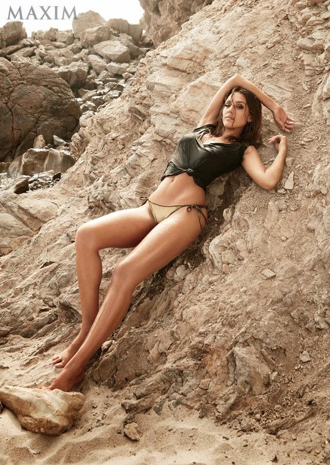 Jessica Alba en Maxim USA agosto 2014