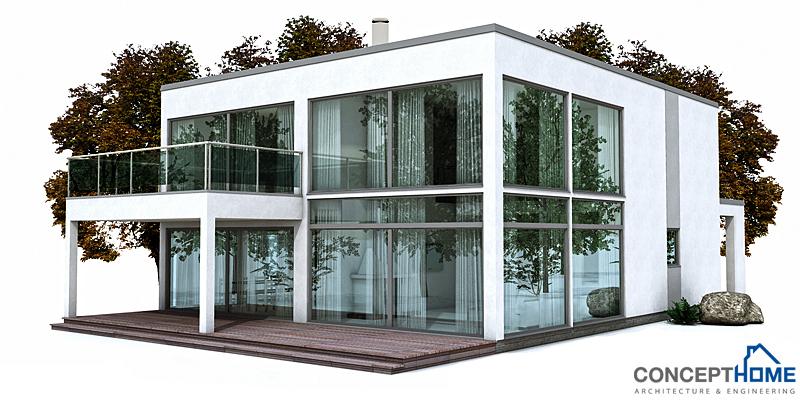 Contemporary house plans contemporary house design ch149 for Modern house design 2013