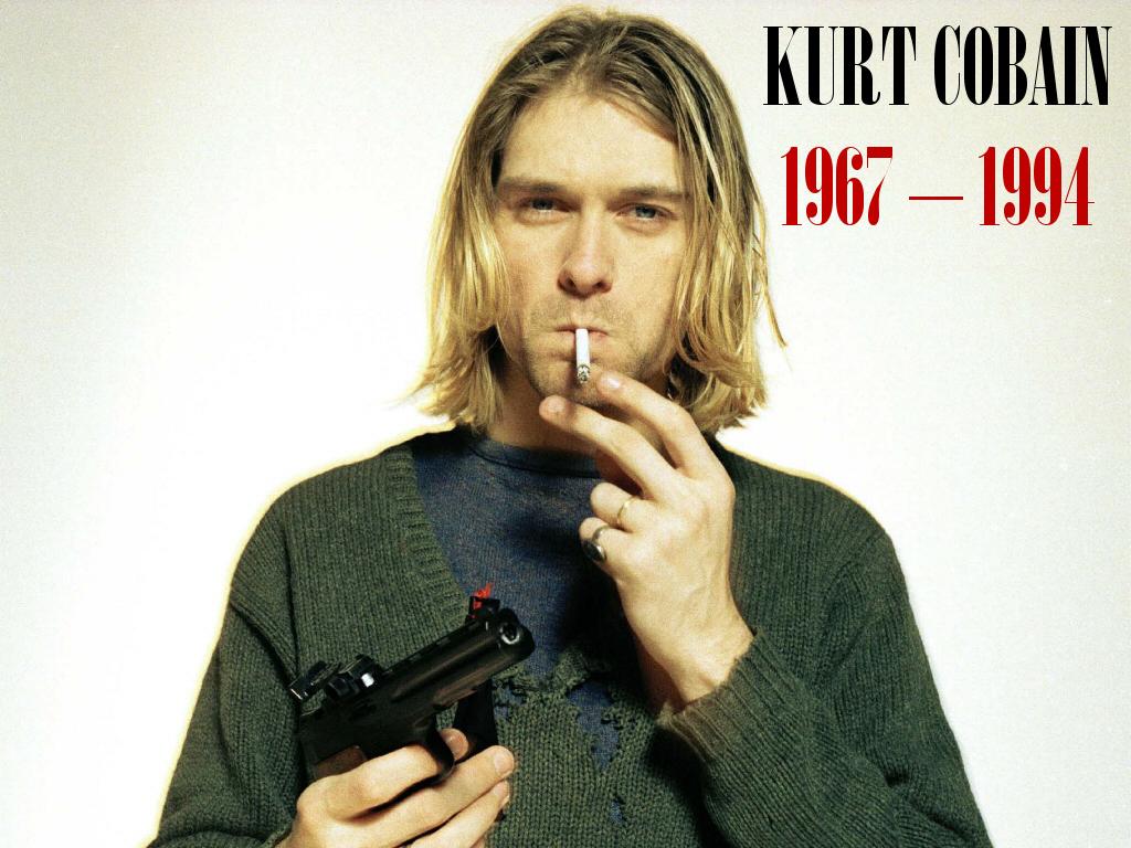 Curt Cobain - Wallpaper Gallery