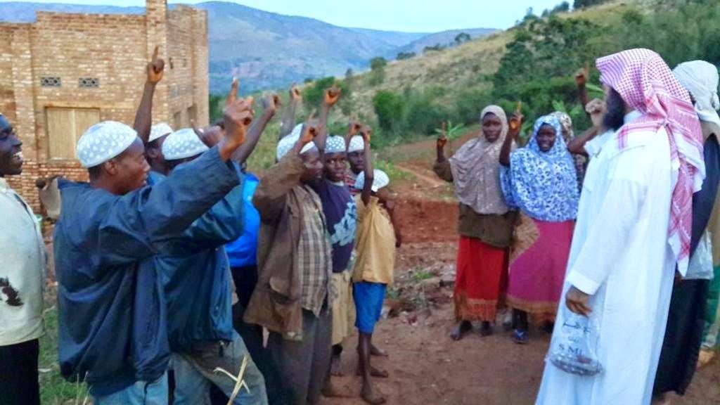 الإسلام، بوروندي، دعم الدعاة