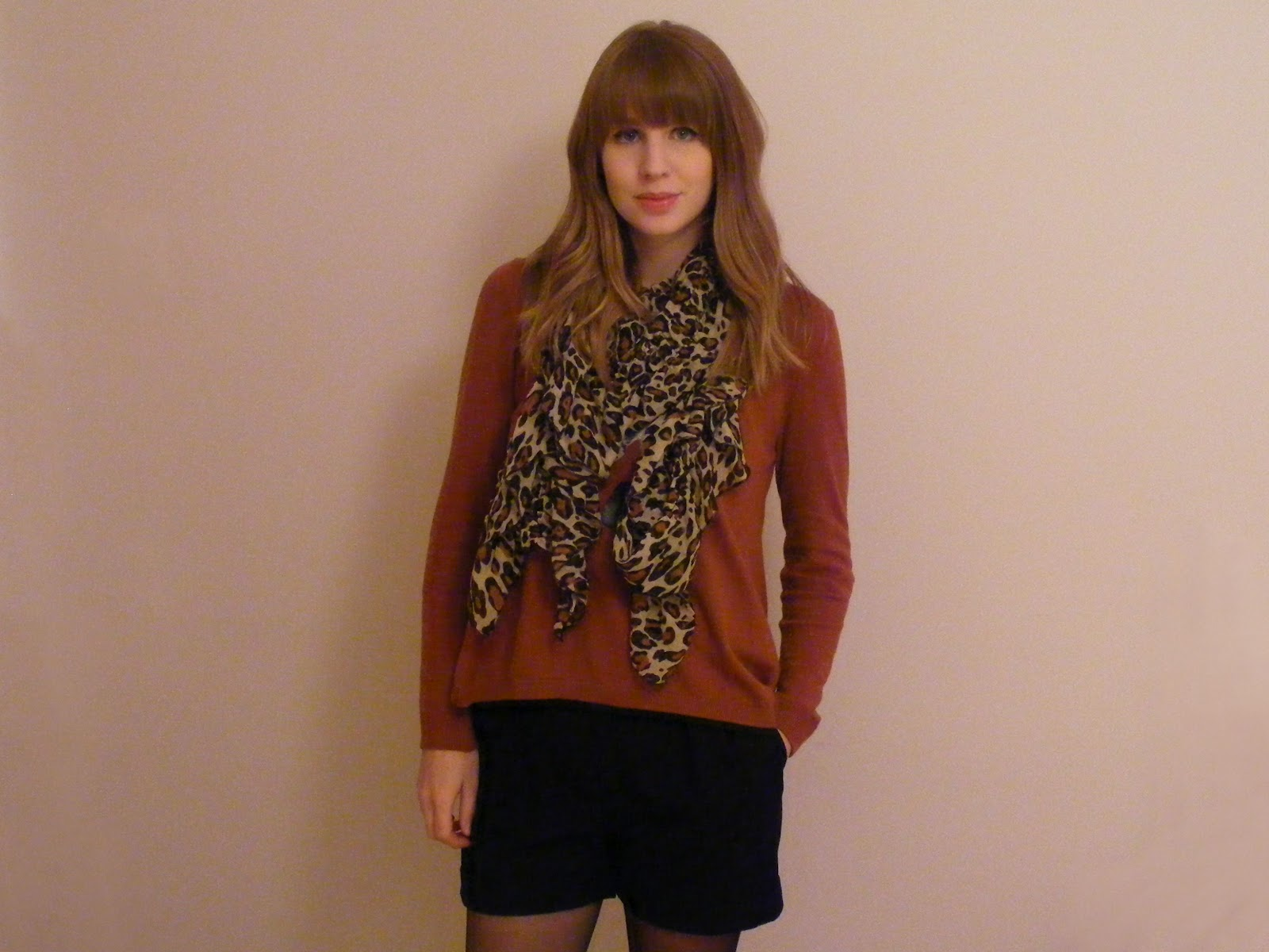 quite quaint topshop leopard print