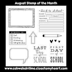 AUGUST 2017 STAMP OF THE MONTH