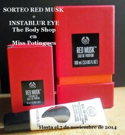 Sorteo Red Musk + Instablur TBS en Miss Potingues