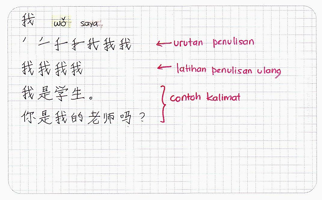 Belajar Bahasa China bersama Inge Santoso