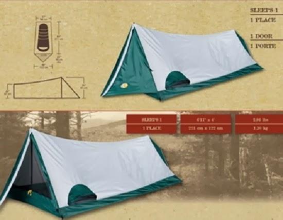 Tenda Gunung Bass Pro Shops® Hiker/Biker I Tent