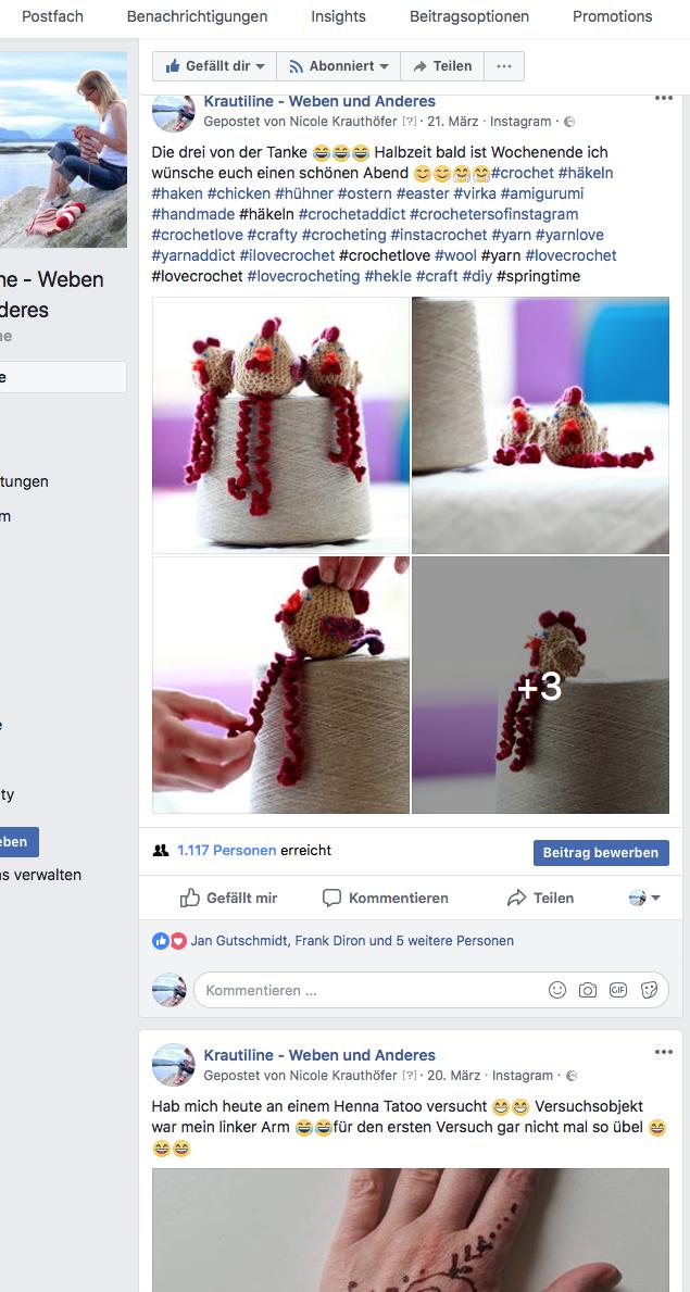 Ich auf Facebook