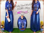 Gamis Jeans Washed GC1940 HABIS