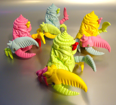 Mixed Parts King Jinx Resin Figures by Paul Kaiju