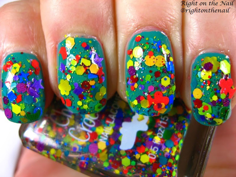 Right on the Nail: Chaos & Crocodiles Swatch and Review: Color Wheel ...