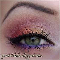 colorful spring makeup