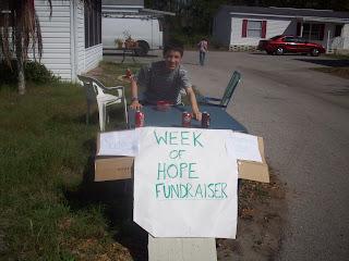 Week of Hope Fundraiser