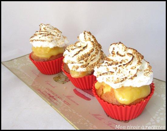cupcake tarte citron