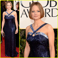Jodi Foster Red Carpet Look