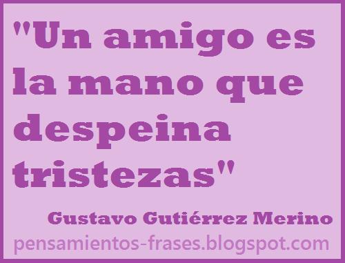 frases de Gustavo Gutiérrez Merino
