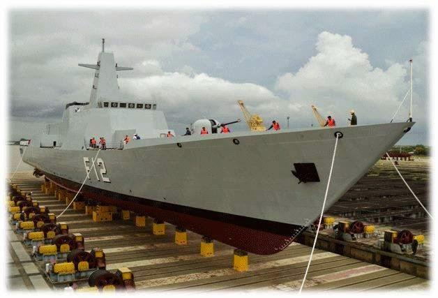 Myanmar Navy Stealth Frigate F 12