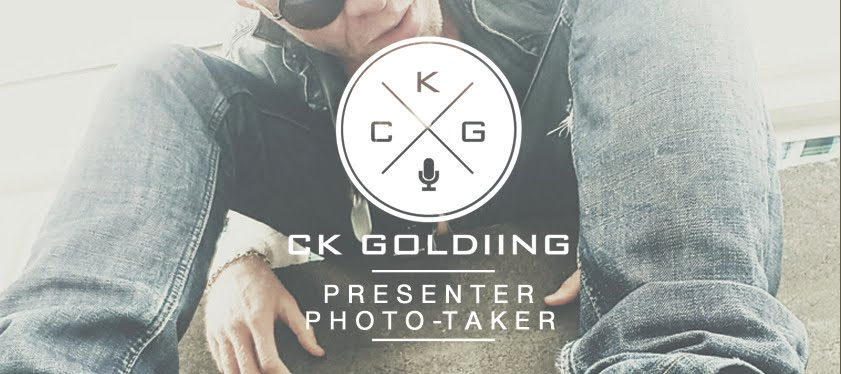 CK Goldiing: Presenter | Photo-Taker.