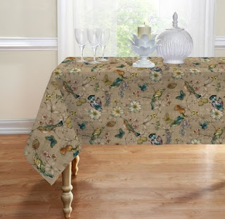 Birds tablecloth