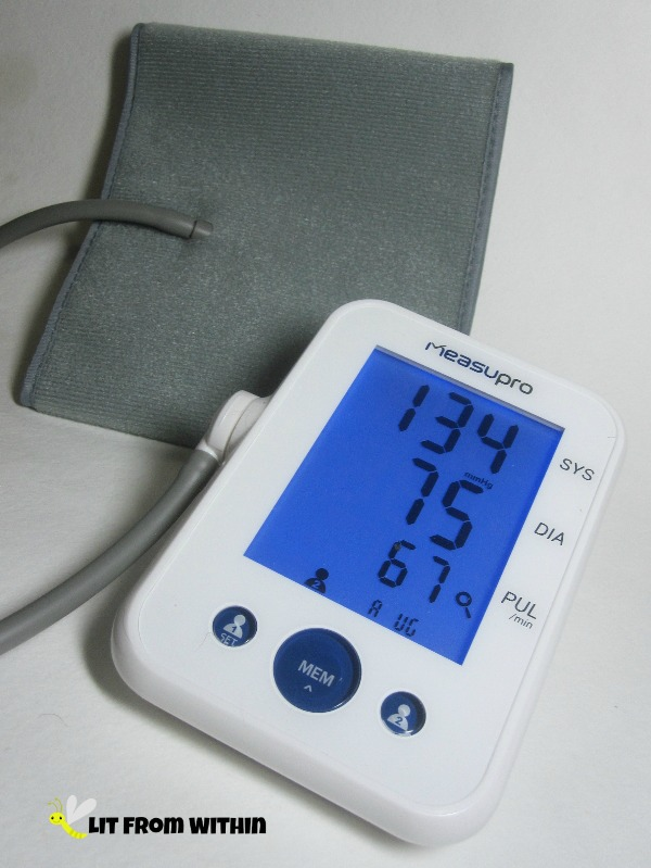 MeasuPro Upper Arm Blood Pressure Monitor