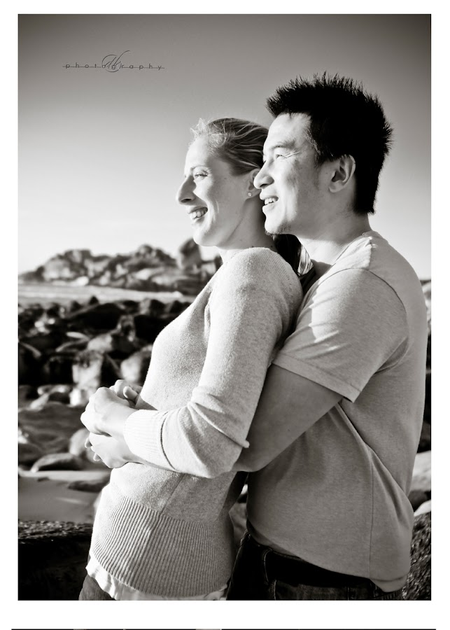 DK Photography 38 Kate & Cong's Engagement Shoot on Llandudno Beach  Cape Town Wedding photographer