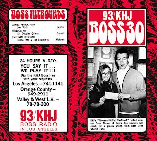 KHJ Boss 30 No. 184 - Charlie Tuna