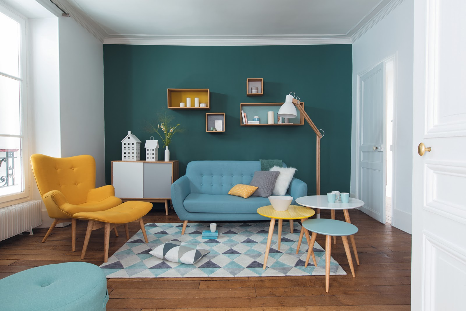 La nouvelle collection nordique de maisons du monde lily for Maison du monde tableaux deco