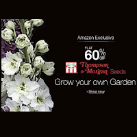 Buy Thompson and Morgan Seeds 60% off from Rs.149 Via Amazon.in:buytoearn