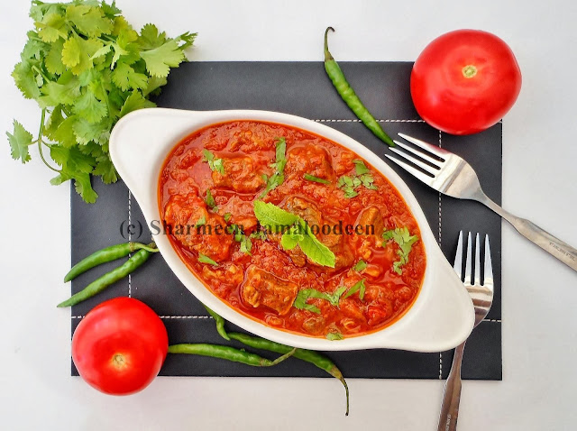 Spicy Beef in Tomato Sauce ( Rougaille La Viande) | Confessions Of A ...