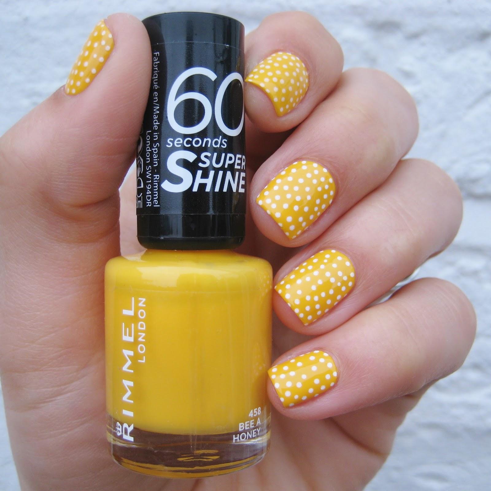 Honey Yellow Nail Polish: Dahlia Nails: Bee A Honey