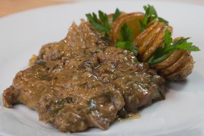 """Sofrito"" recipe speciality form Corfu island, Mediterranean Diet, Corfu recipe,"