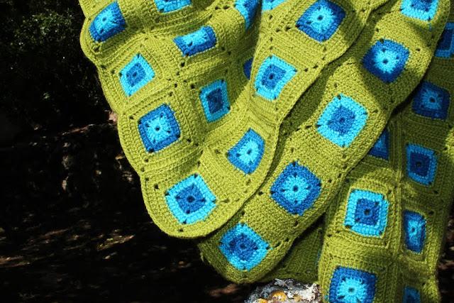 2007 Crochet Granny Square Blanket