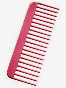 Wide Tooth Hairbrush