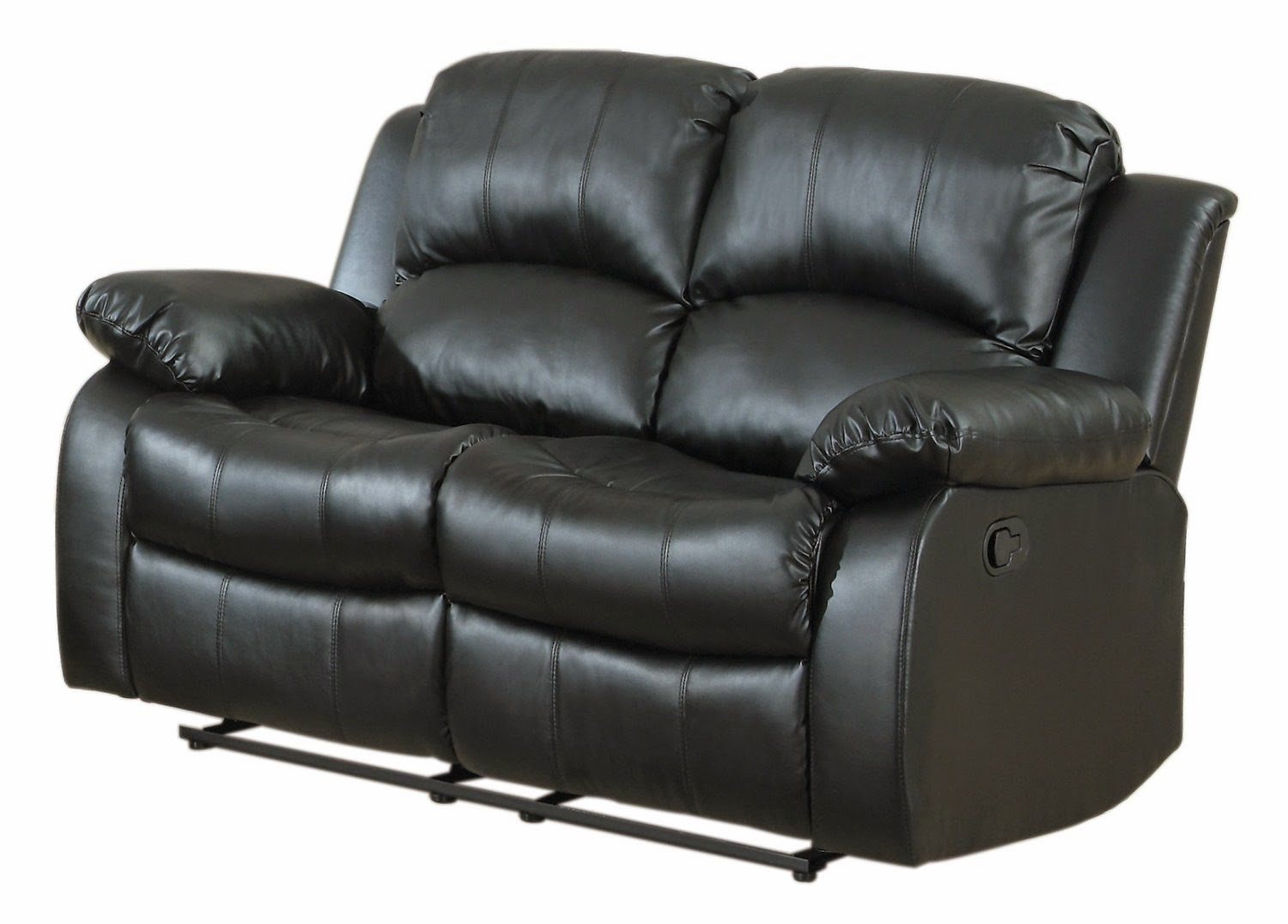 Cheap recliner sofas for sale black leather reclining sofa and loveseat Leather sofa and loveseat recliner