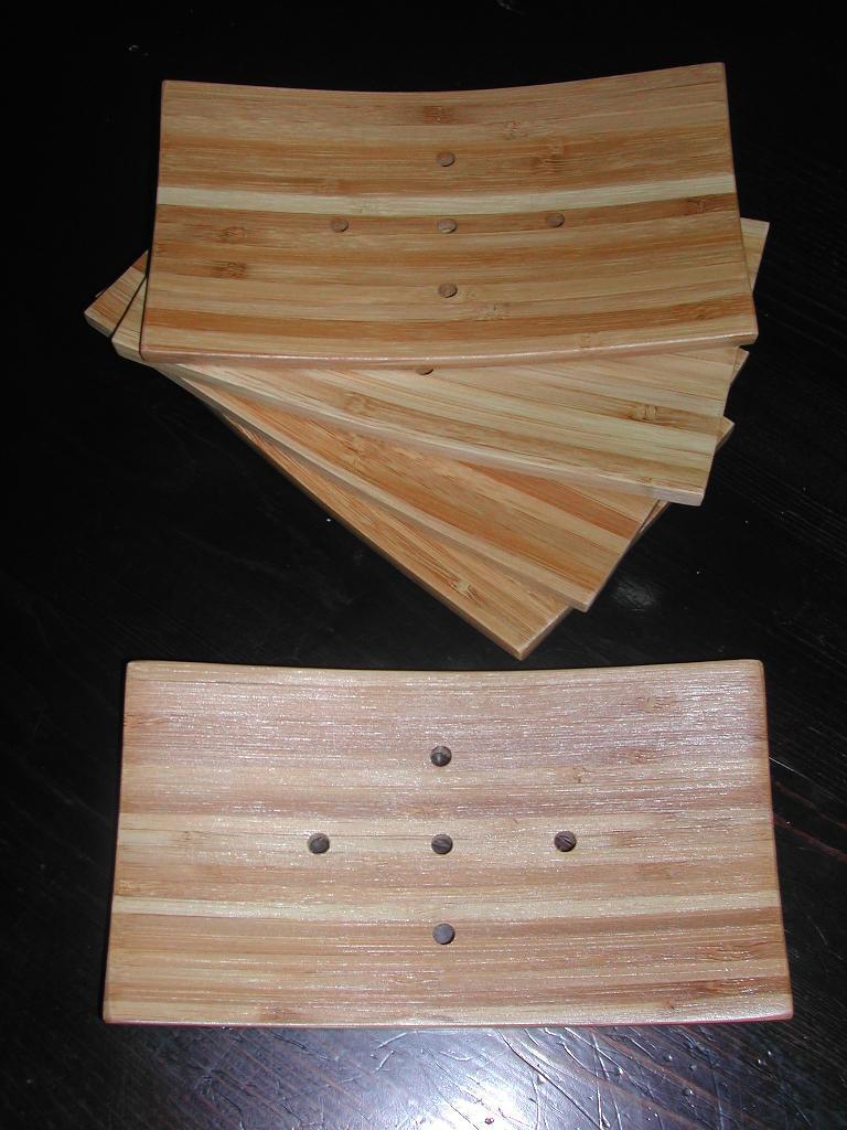 Jackie\'s Sudsy Life: Soap Dish 101--NEW Bamboo Soap Trays