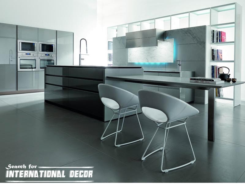 Top 10 designs of high tech kitchen style for Top 10 kitchen designs