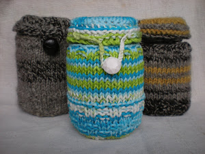 Free Pattern - Mason Jar Cozy