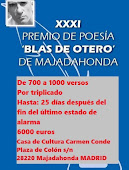 URGENTE: Premio BLAS DE OTERO MAJADAHONDA