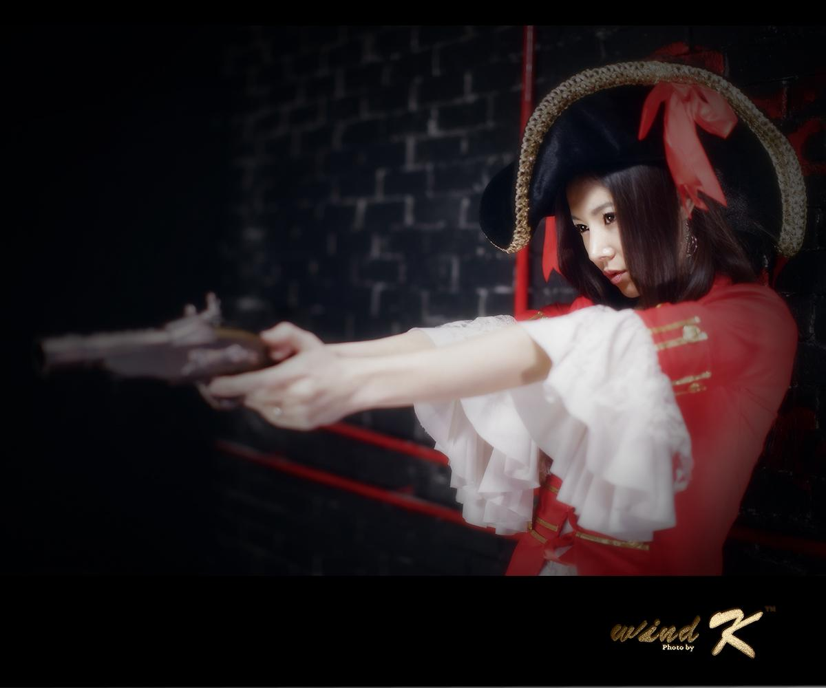 Min Seo Hee with Pirate Costum