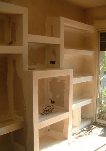 Mardel plac sistemas constructivos en seco nuevos muebles for Muebles bibliotecas para living