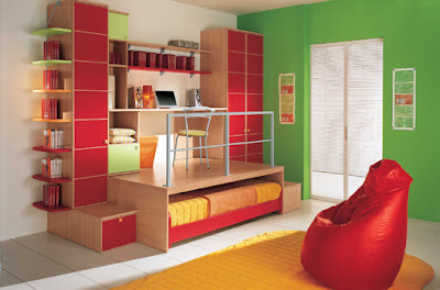 modern bedroom furniture kids