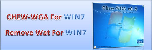 برنامج يسمح لك بإستخدام ويندوز 7 لأطول فترة ممكنة إنه برنامج CHEW-WGA لتنشيط ويندوز 7 كل ذلك بضغطة ماوس واحدة على رابط البرنامج داخل ملف الضغط ثم اضغط على Apply وسيطلب منك إعادة التشغيل اضغط OK..