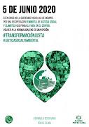 Día Mundial del Medio Ambiente, 5 de junio: Por una salida de la crisis sanitaria, social y ambient
