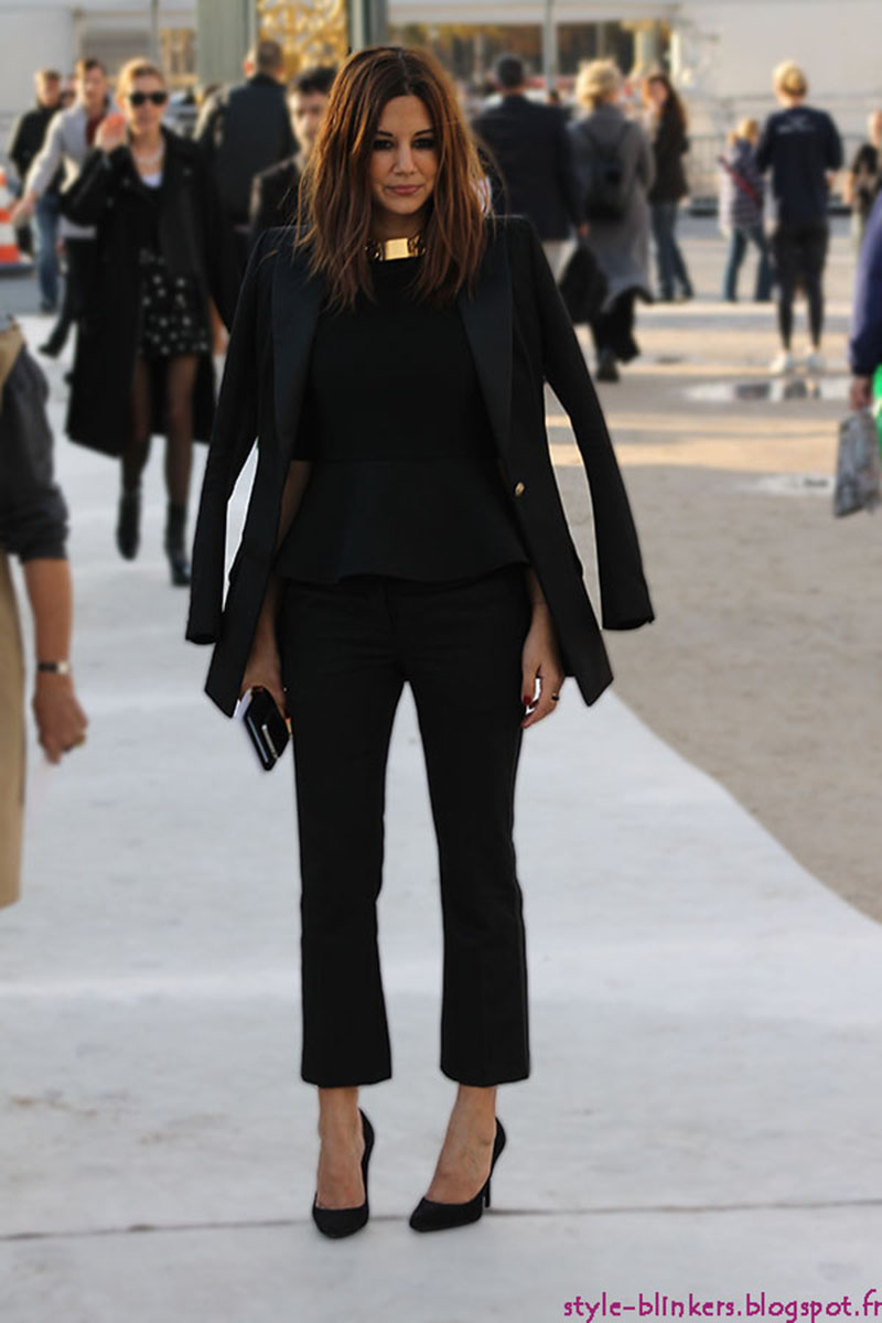 Christine Centenera Before Nina Ricci S/S 2013 Paris Fashion Week Show