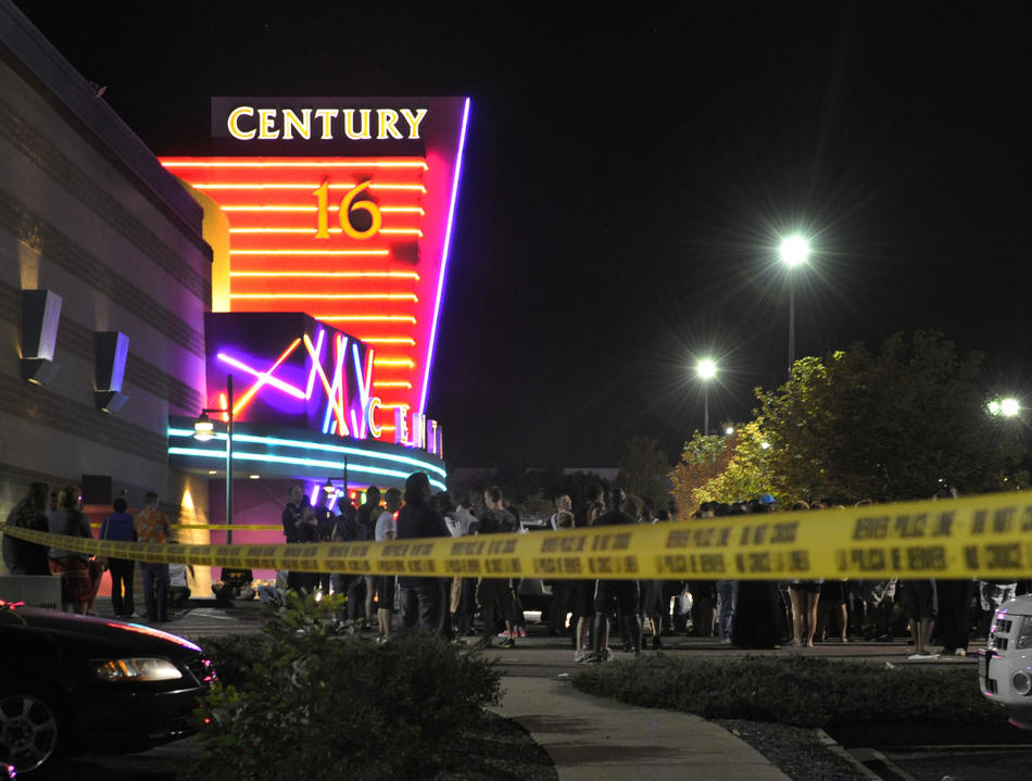2012 aurora colorado shootings On july 20, 2012, a mass shooting occurred inside a century 16 movie theater in aurora, colorado, during a midnight screening of the film the dark knight rises dressed in tactical clothing, james eagan holmes set off tear gas grenades and shot into the audience with multiple firearms.