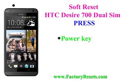 Soft Reset HTC Desire 700 Dual Sim