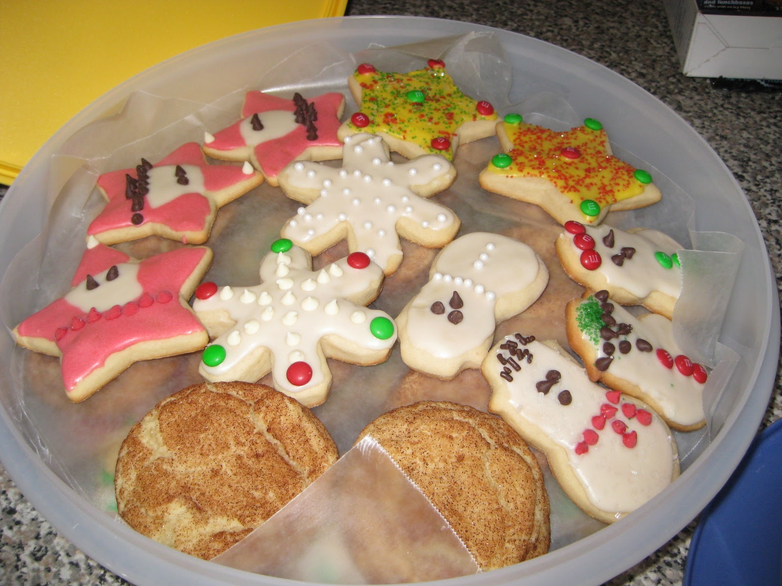 La Bella Vita: Christmas Cookie Recipe - Soft Frosted Sugar Cookies