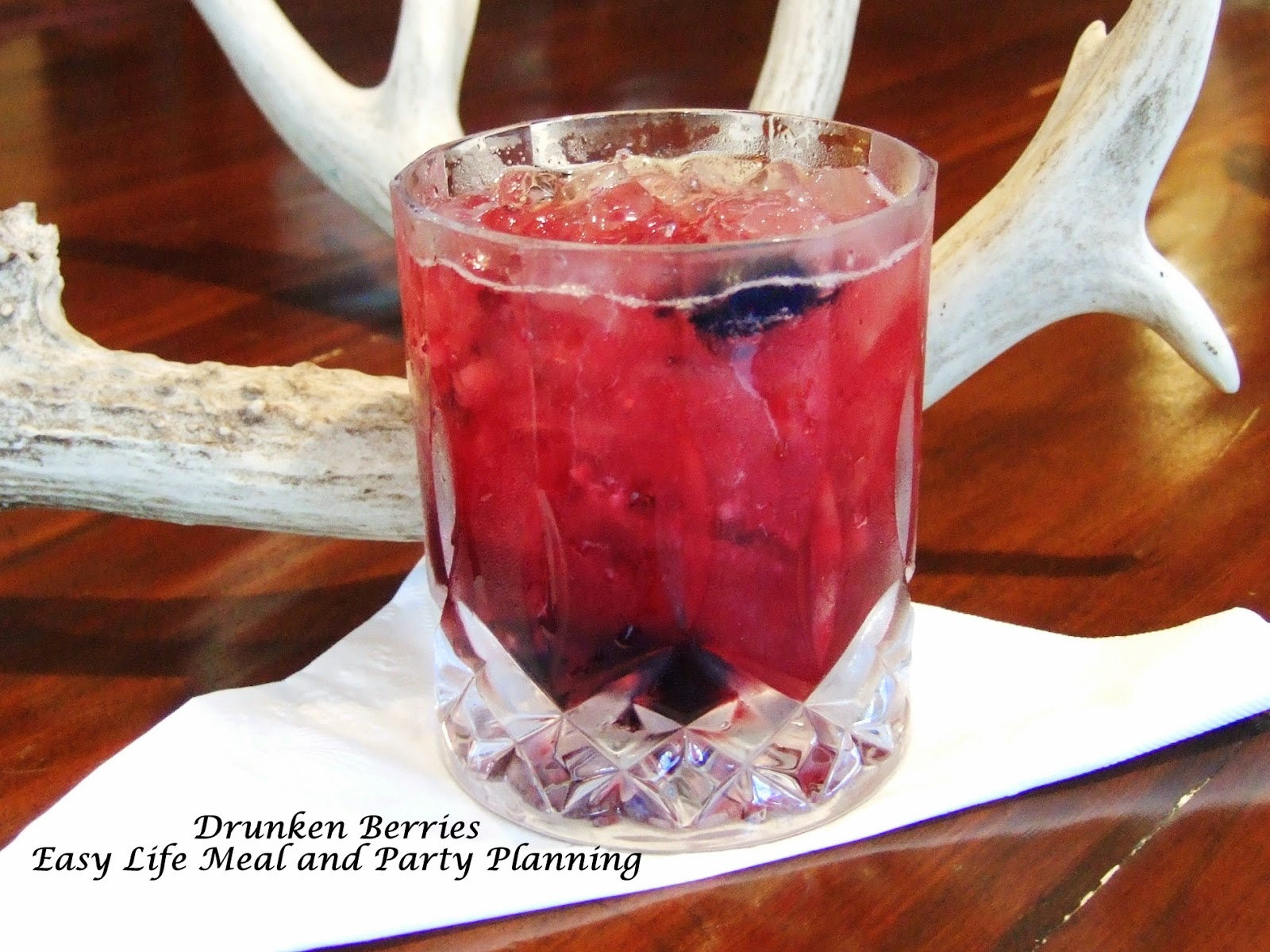 Drunken Berries Cocktail by Easy Life Meal and Party Planning