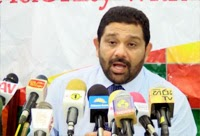 We will not let Mahinda to join with President : Ashaath Saali