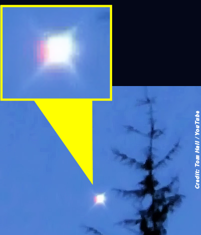 UFO Filmed Over Loch Lomond Area, Scotland 2-1-15