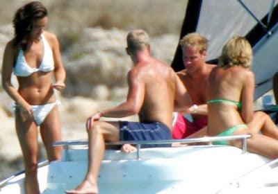 Pippa Middleton Sunbathing