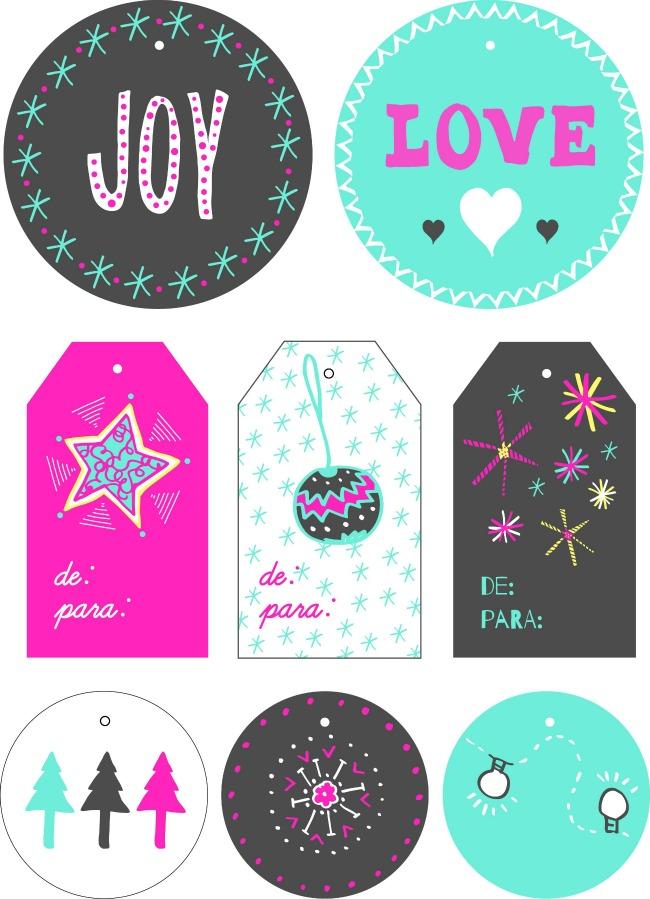 Imprimibles navide os gratis para descargar y decorar tus - Decorar fotos de navidad gratis ...